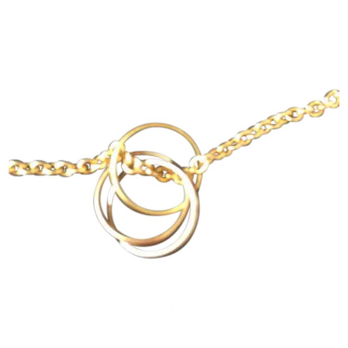 Cartier - Sautoir Trinity pour femme en or jaune - dore