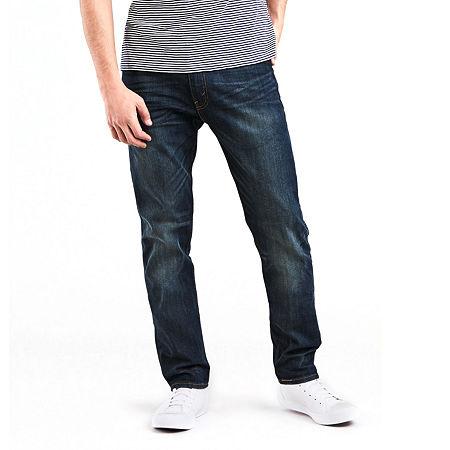 Levi's 502 Regular Tapered Stretch Jeans - Big & Tall, 52 30, Blue