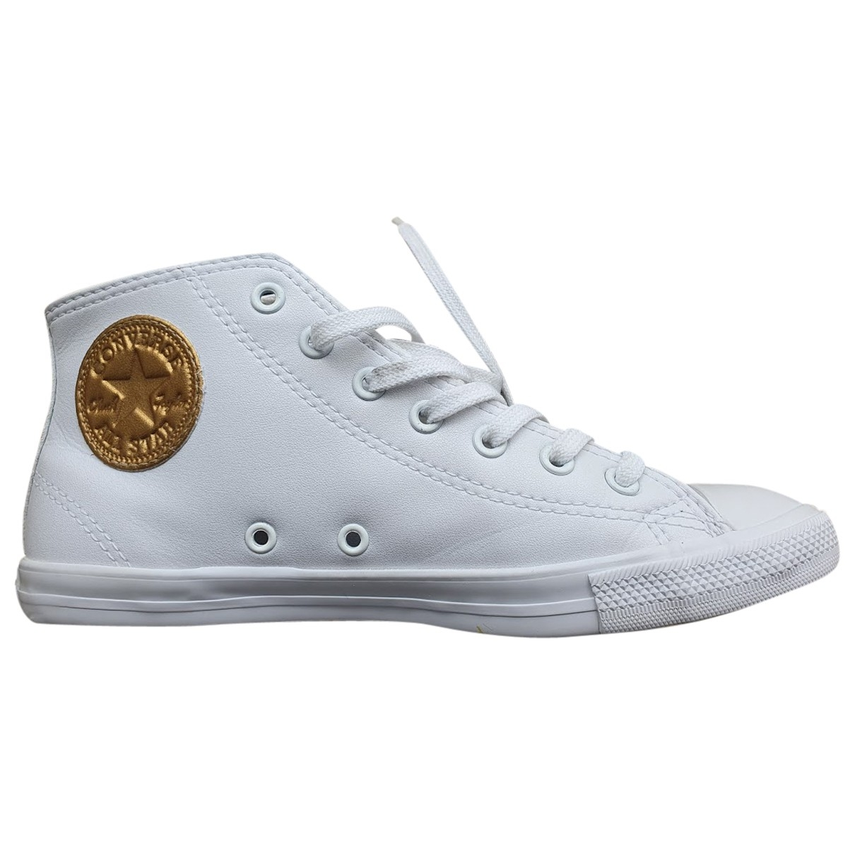Converse \N White Leather Trainers for Women 7 US