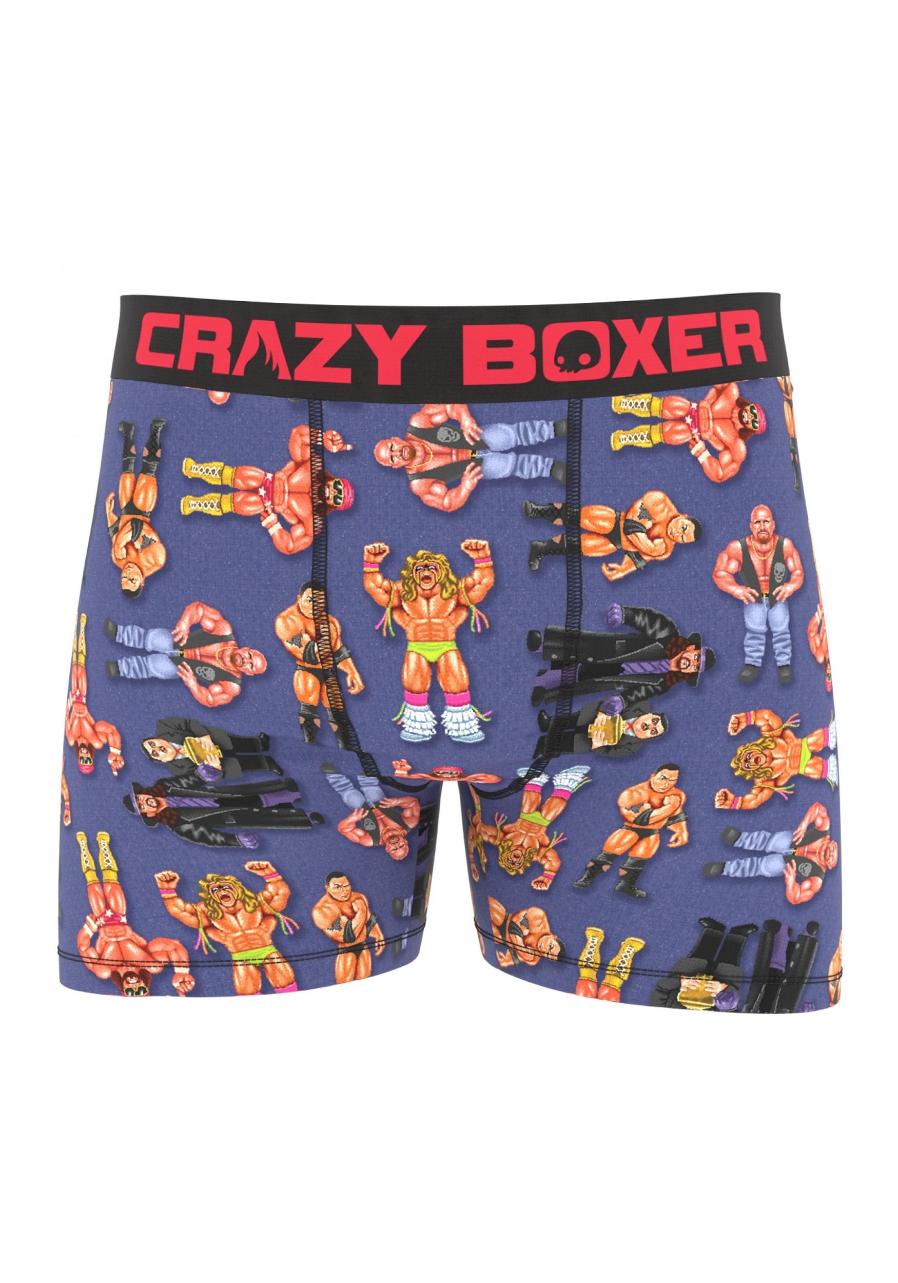 Crazy Boxer WWE Wrestling Battle Boxer Briefs
