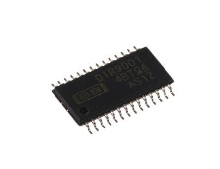 Texas Instruments DIR9001PW , Audio Processor, 28-Pin TSSOP