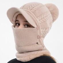 Pom Pom Warm Hat