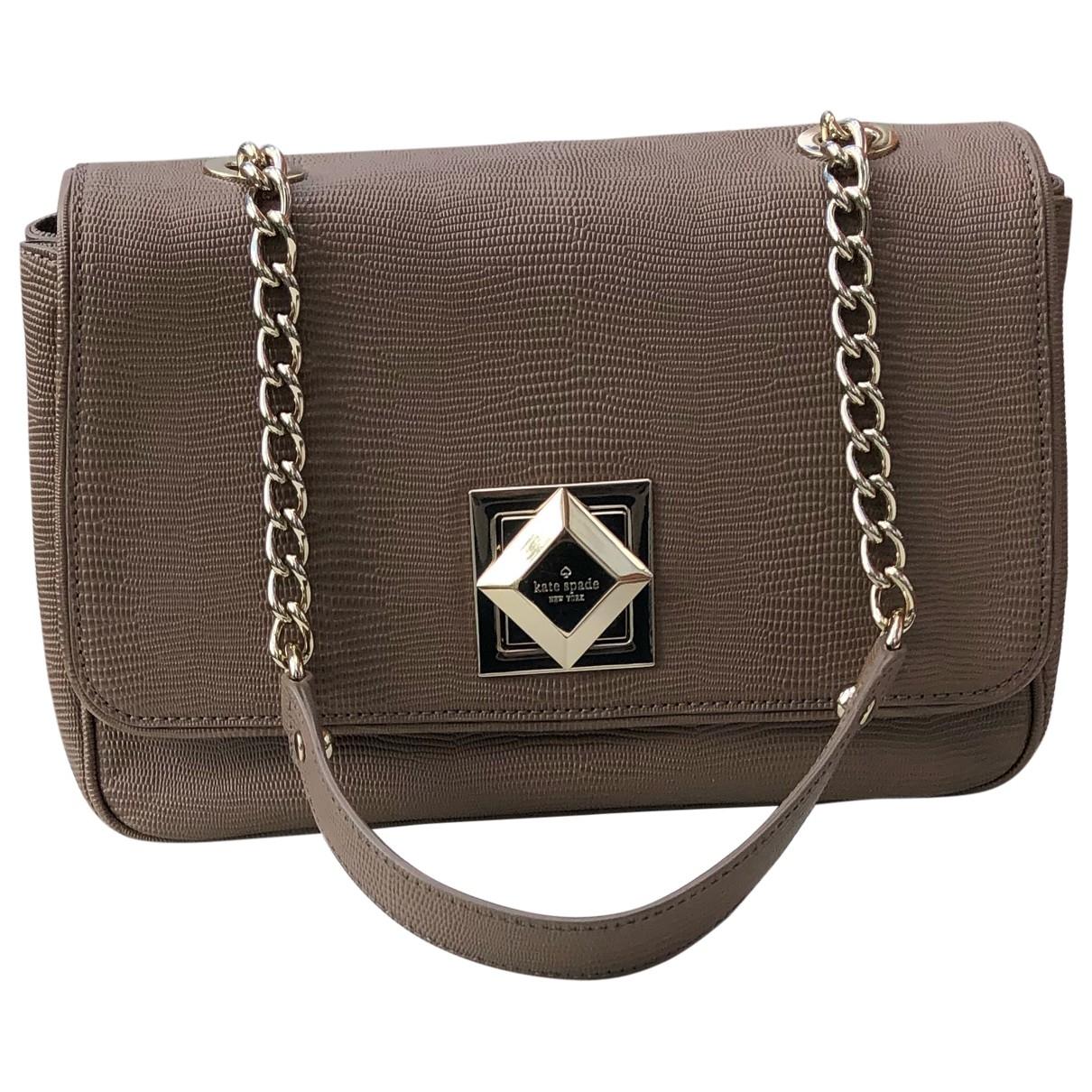 Kate Spade \N Brown Leather handbag for Women \N