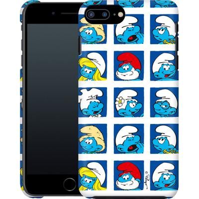 Apple iPhone 7 Plus Smartphone Huelle - Smurf Squares von The Smurfs