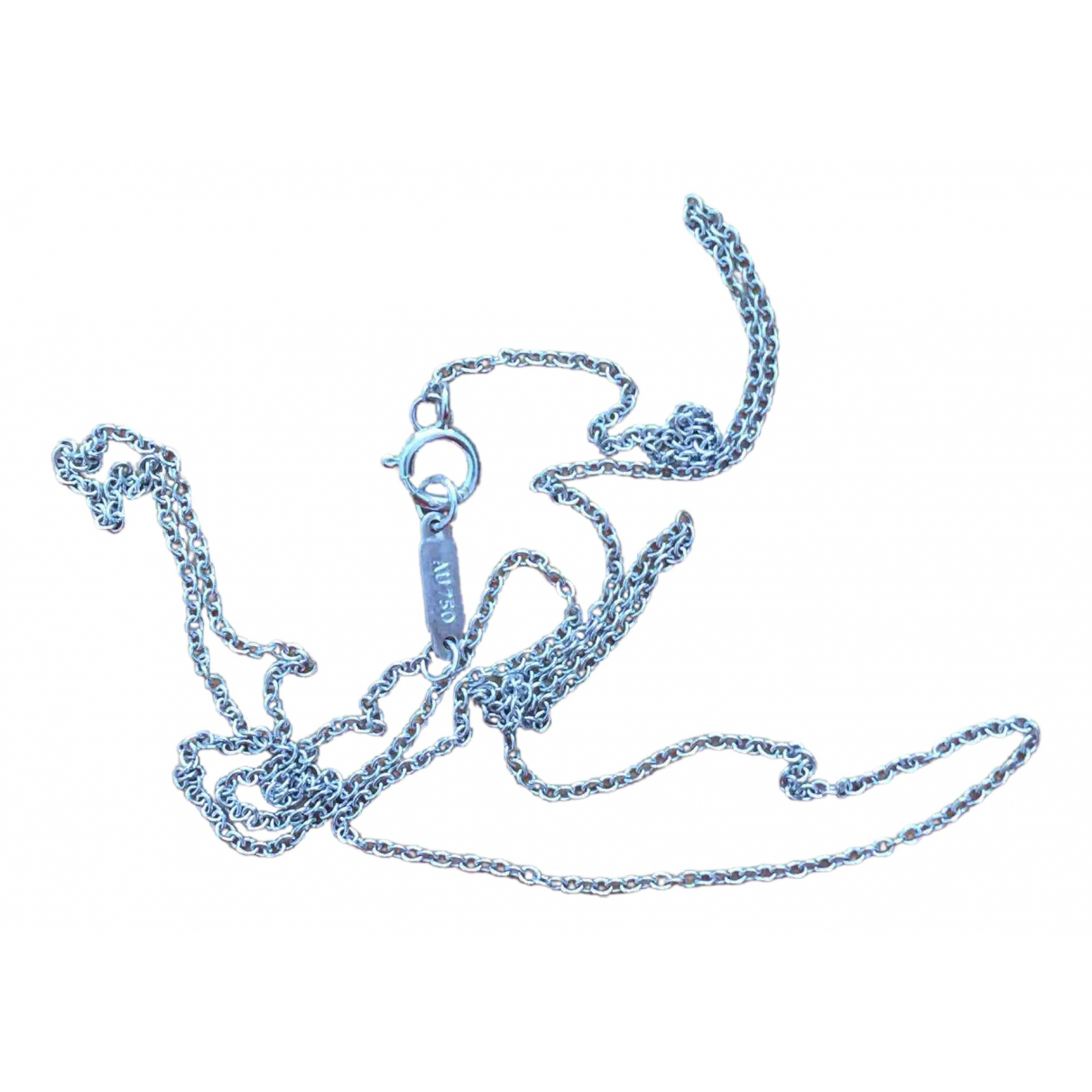 Collar largo de Oro blanco Tiffany & Co