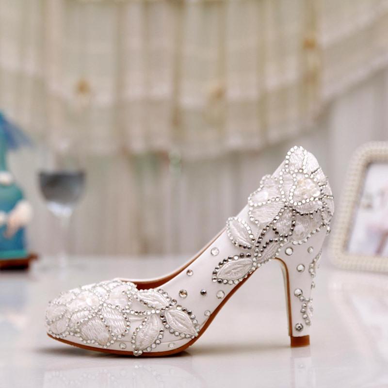 Ericdress Lace&rhinestone Wedding Shoes