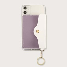 Colorblock Wallet iPhone Case