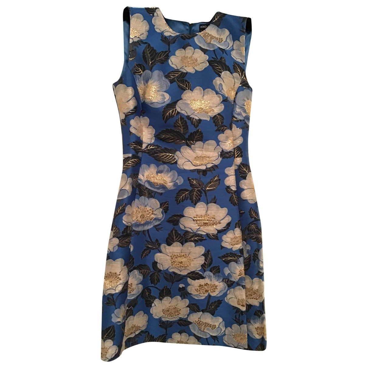 Dolce & Gabbana \N Kleid in  Bunt Polyester