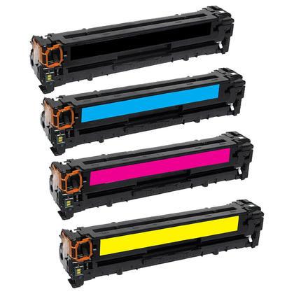 Compatible HP 305X 305A cartouche de toner combo BK/C/M/Y - boite economique