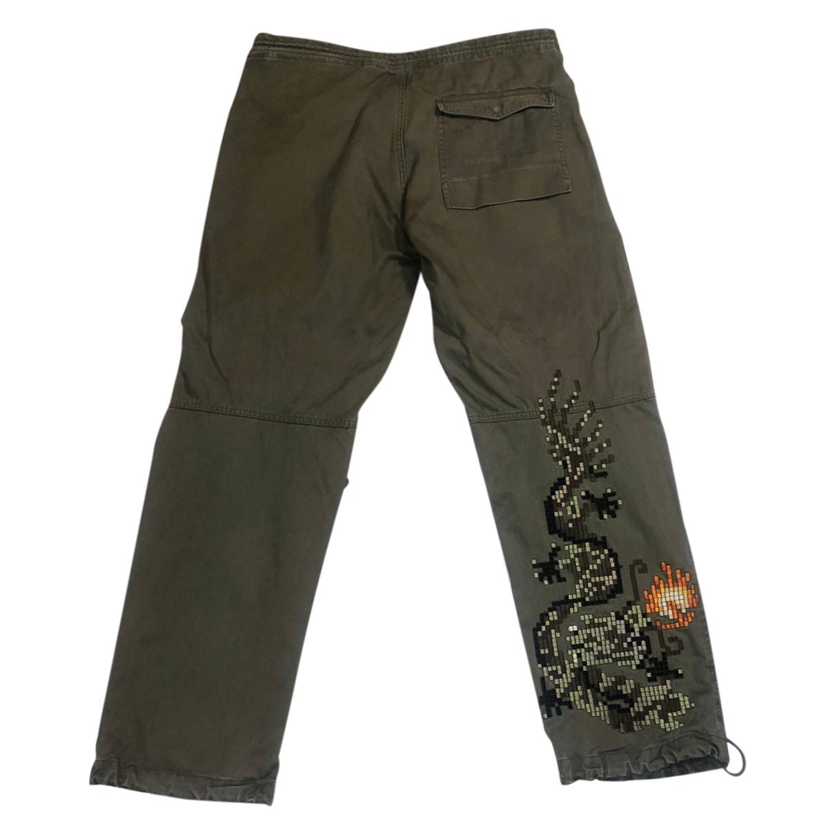 Maharishi \N Khaki Cotton Trousers for Men 34 UK - US