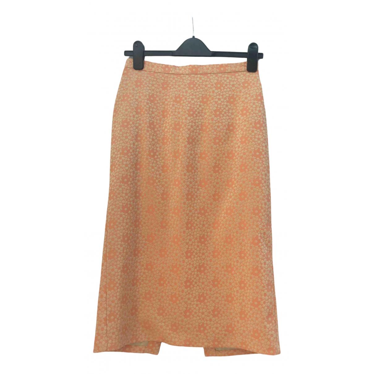 Samsoe & Samsoe \N Rocke in  Orange Polyester