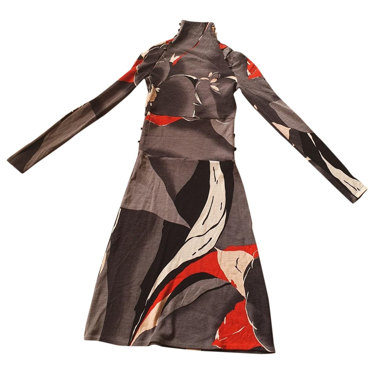 Versus - Robe   pour femme en laine - multicolore