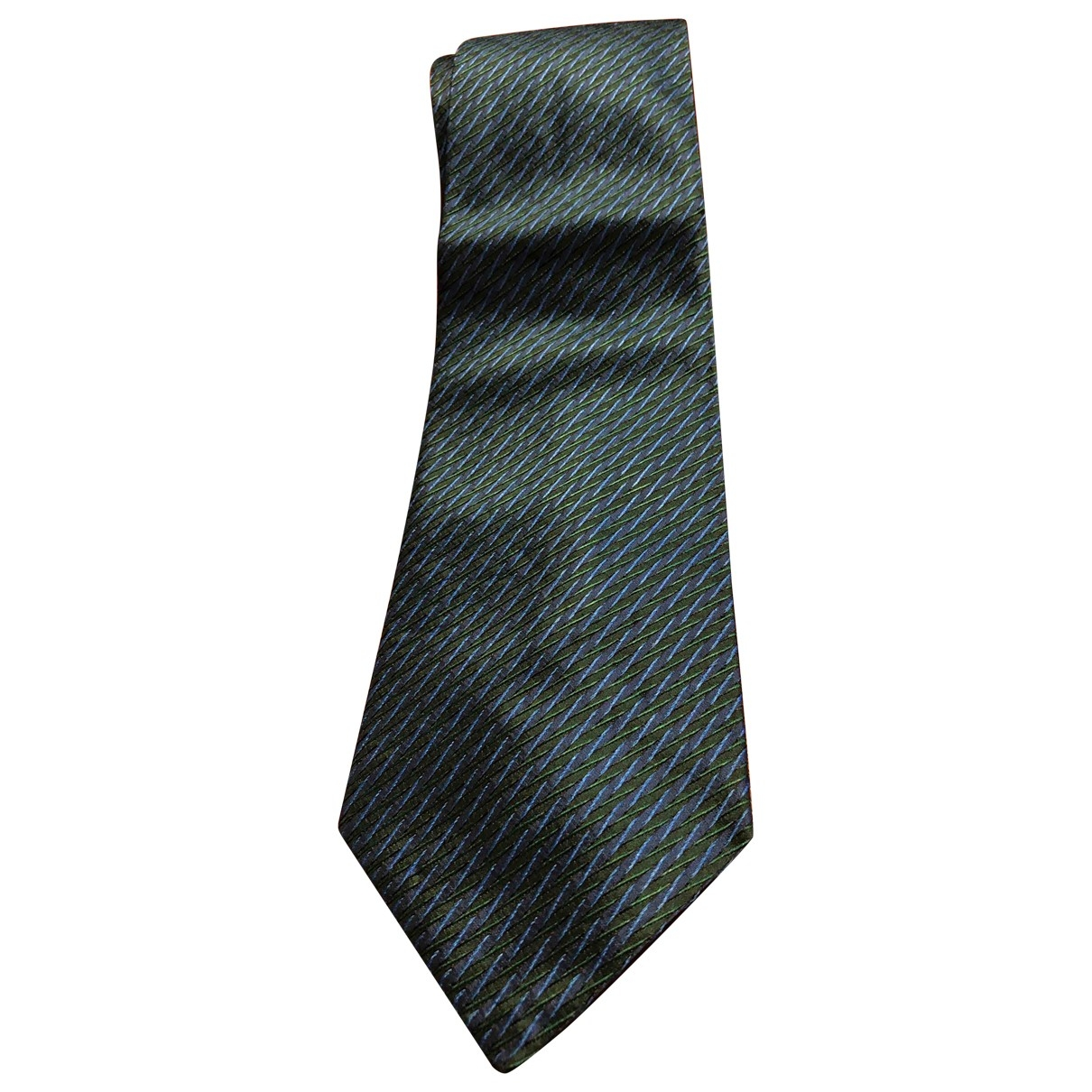 Lanvin - Cravates   pour homme en soie - marine