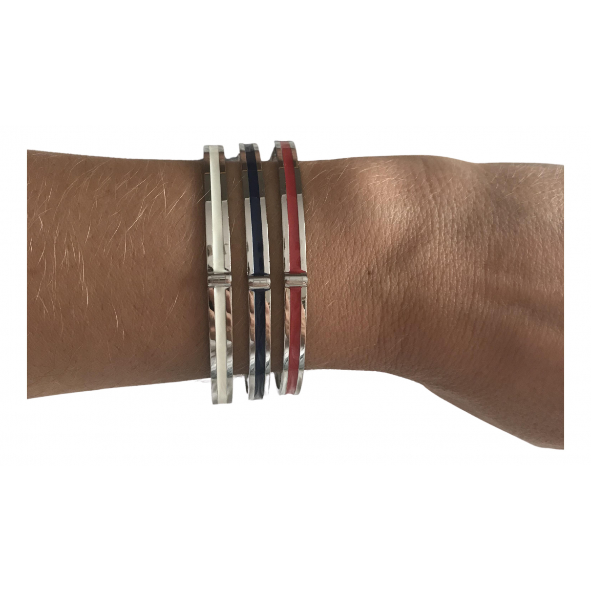 Tommy Hilfiger \N Armband in  Silber Stahl