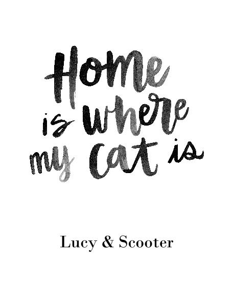 Non-Photo 16x20 Poster(s), Board, Home Décor -Home Cat