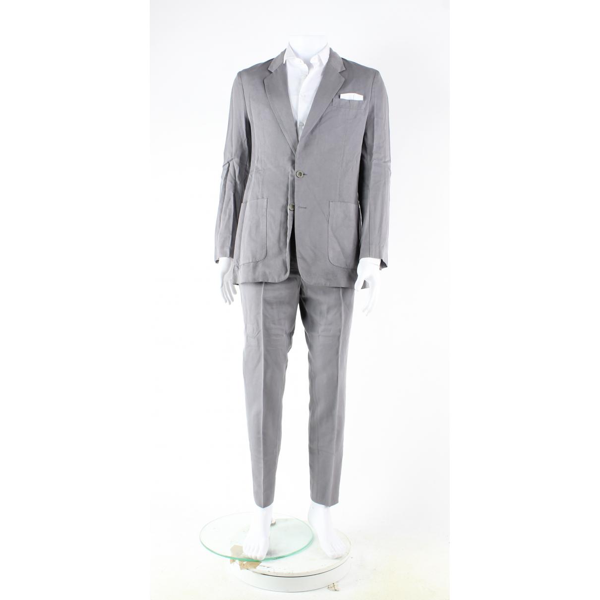 Maison Martin Margiela N Grey Cotton Suits for Men 46 FR