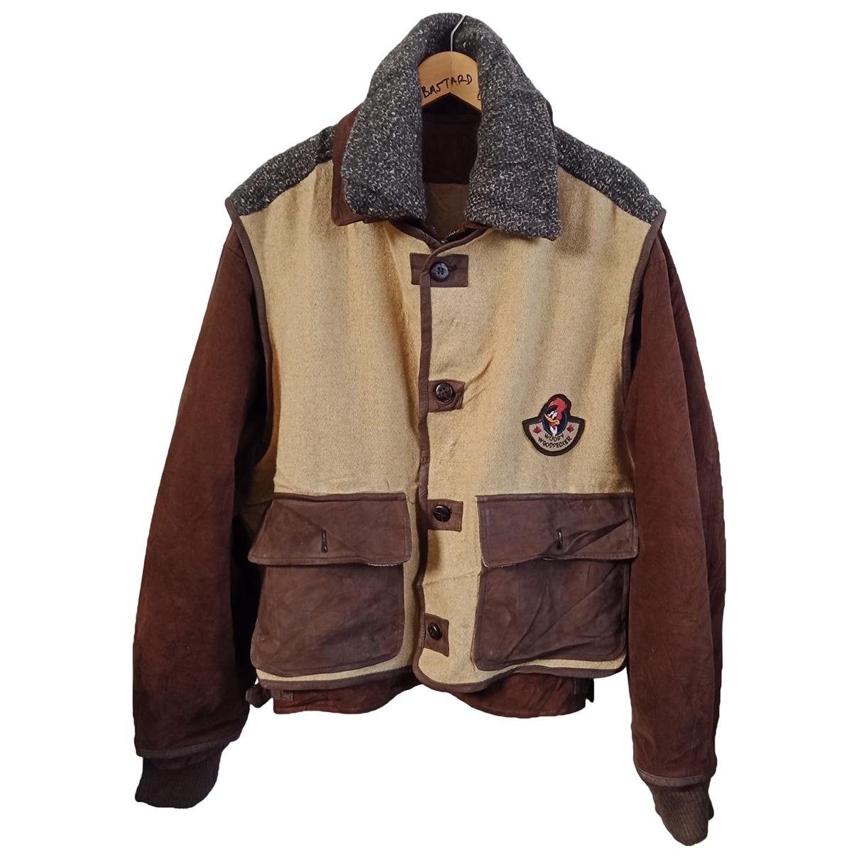 Jc De Castelbajac \N Brown Cotton jacket  for Men 50 IT