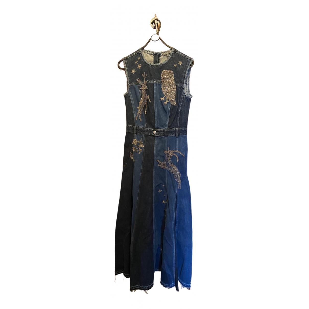 Maxi vestido Alexander Mcqueen