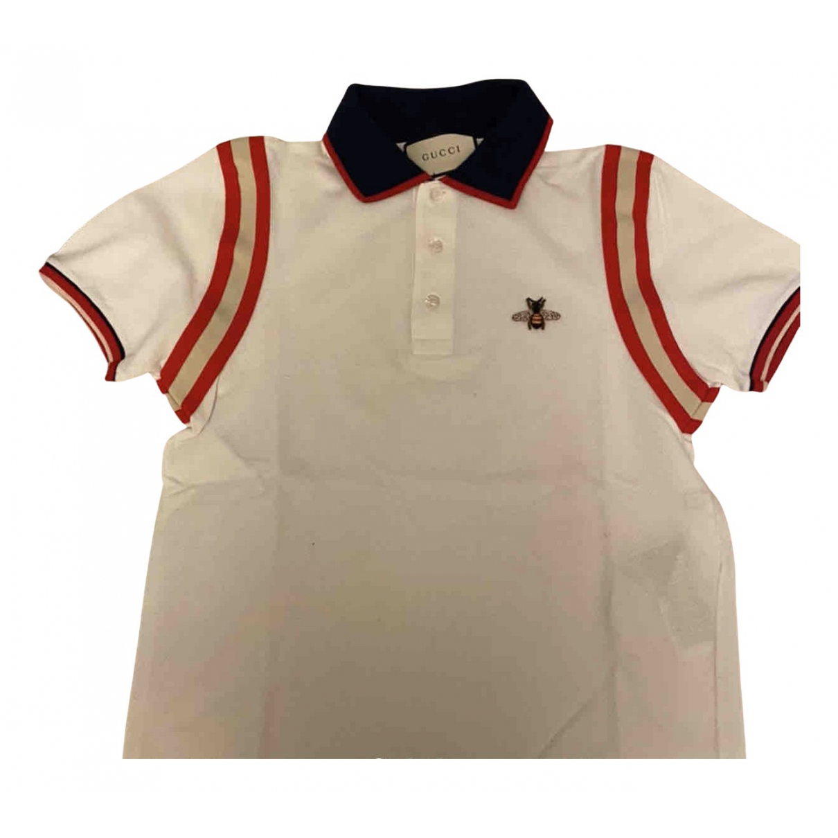 Gucci N White Cotton Polo shirts for Men S International
