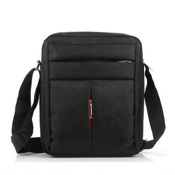 Men Business Briefcase Messenger Shoulder Bag Durable Nylon Crossbody Bag