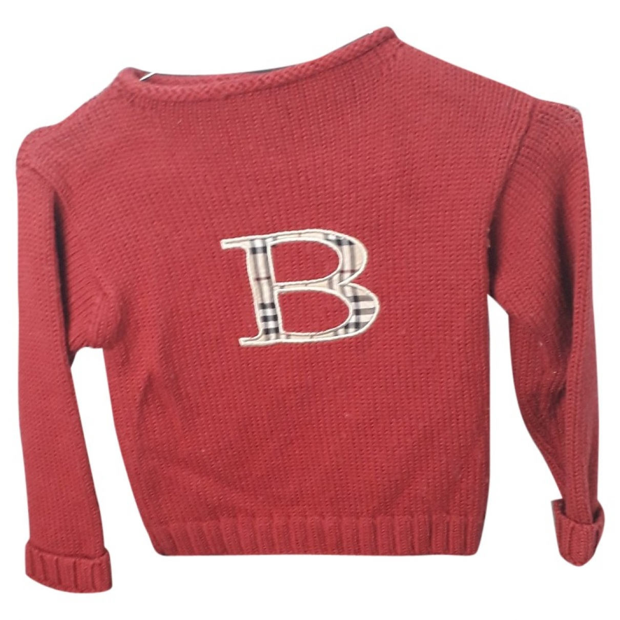Burberry \N Red Wool Knitwear for Kids 5 years - up to 108cm FR