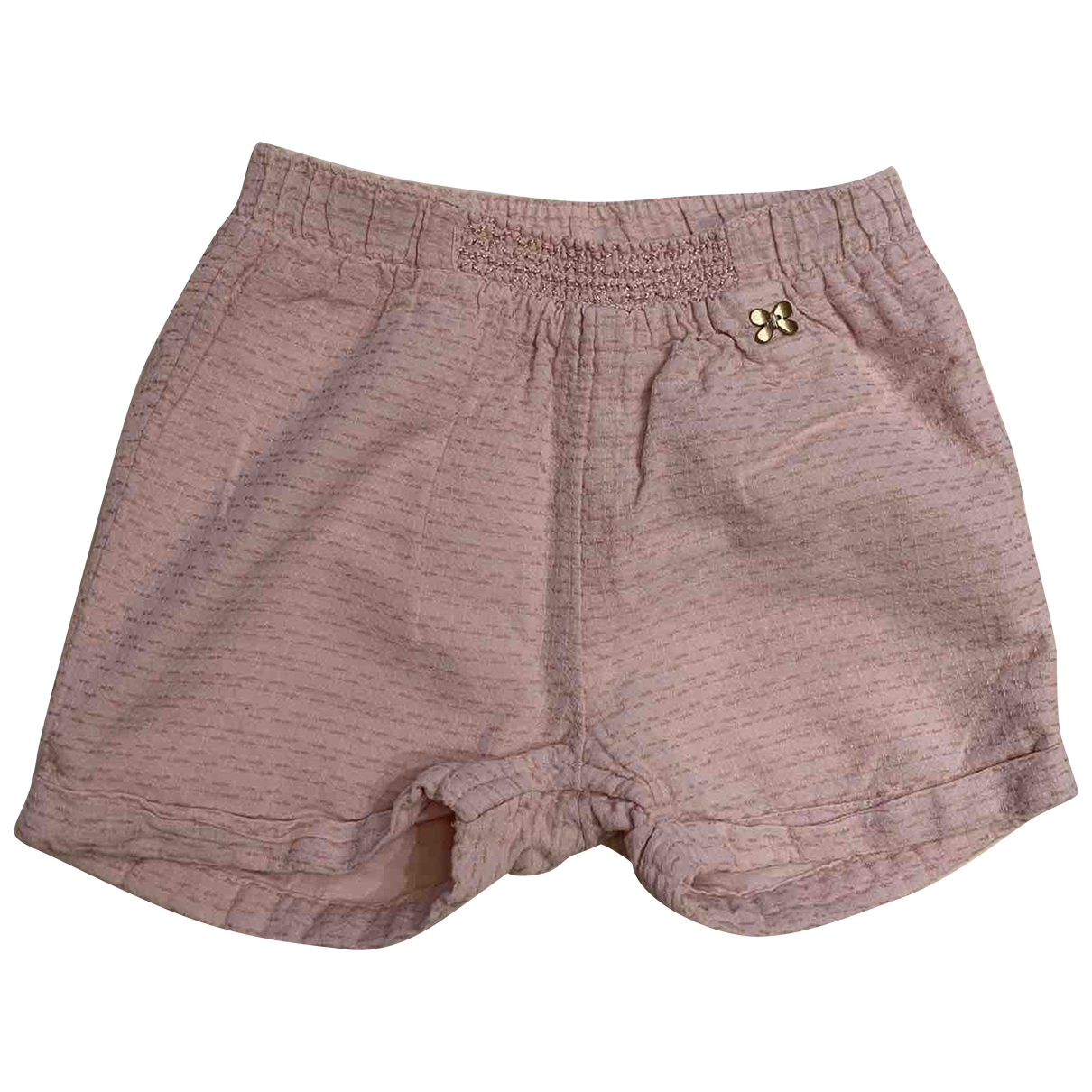 Non Signé / Unsigned N Pink Cotton Shorts for Kids 9 months - up to 71cm FR