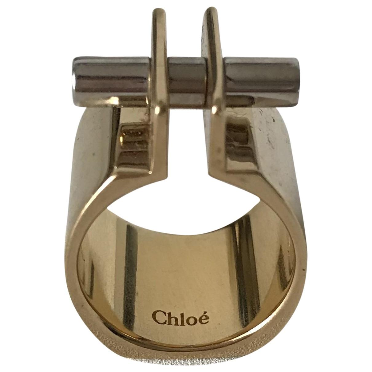 Chloe - Bague   pour femme en metal - dore