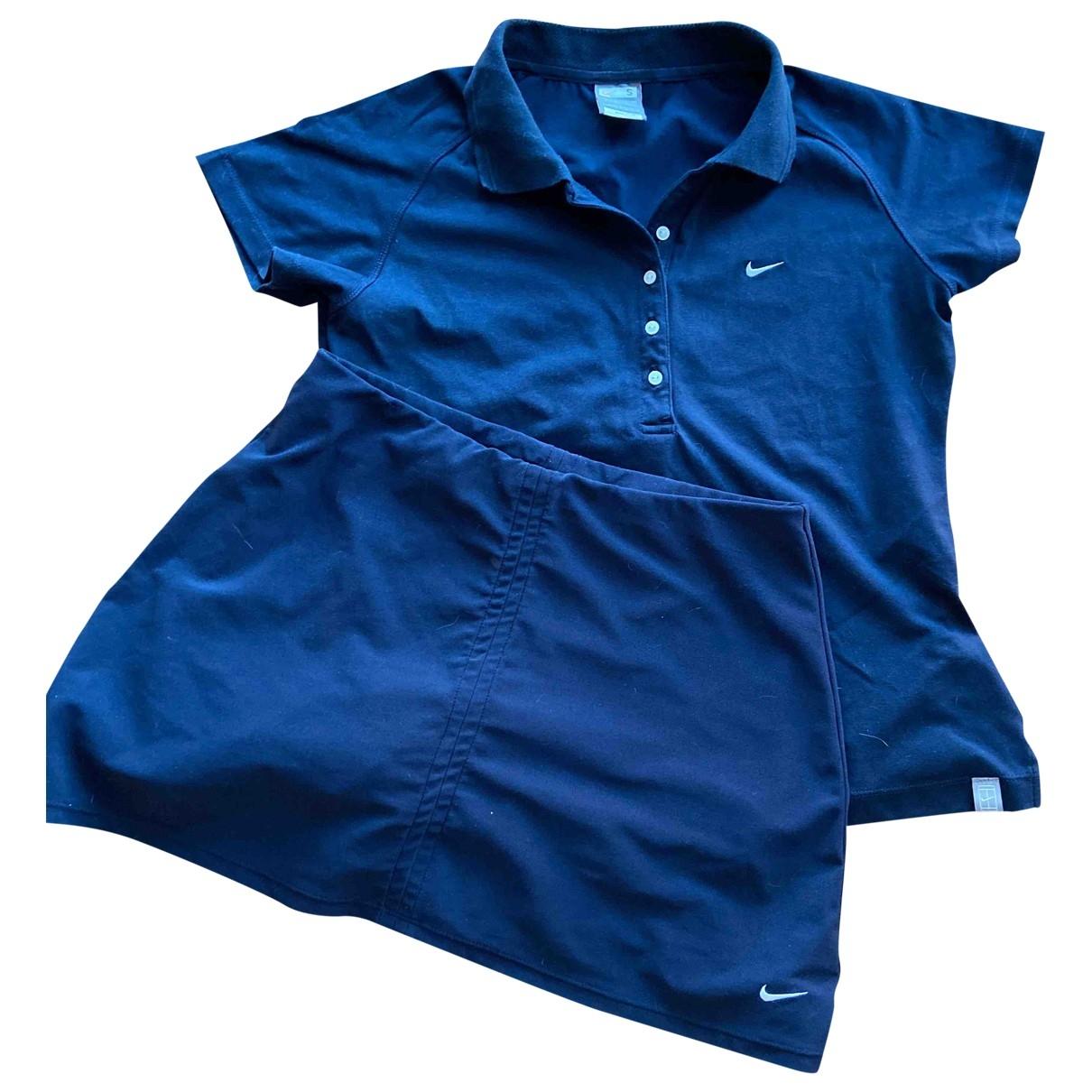Nike \N Kleid in  Blau Polyester