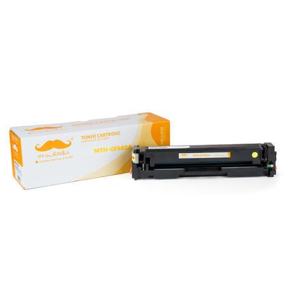 Compatible HP Color LaserJet Pro MFP M277DW Yellow Toner Cartridge - Moustache