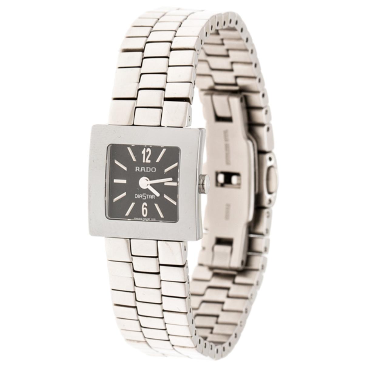 Rado \N Silver Steel watch for Women \N