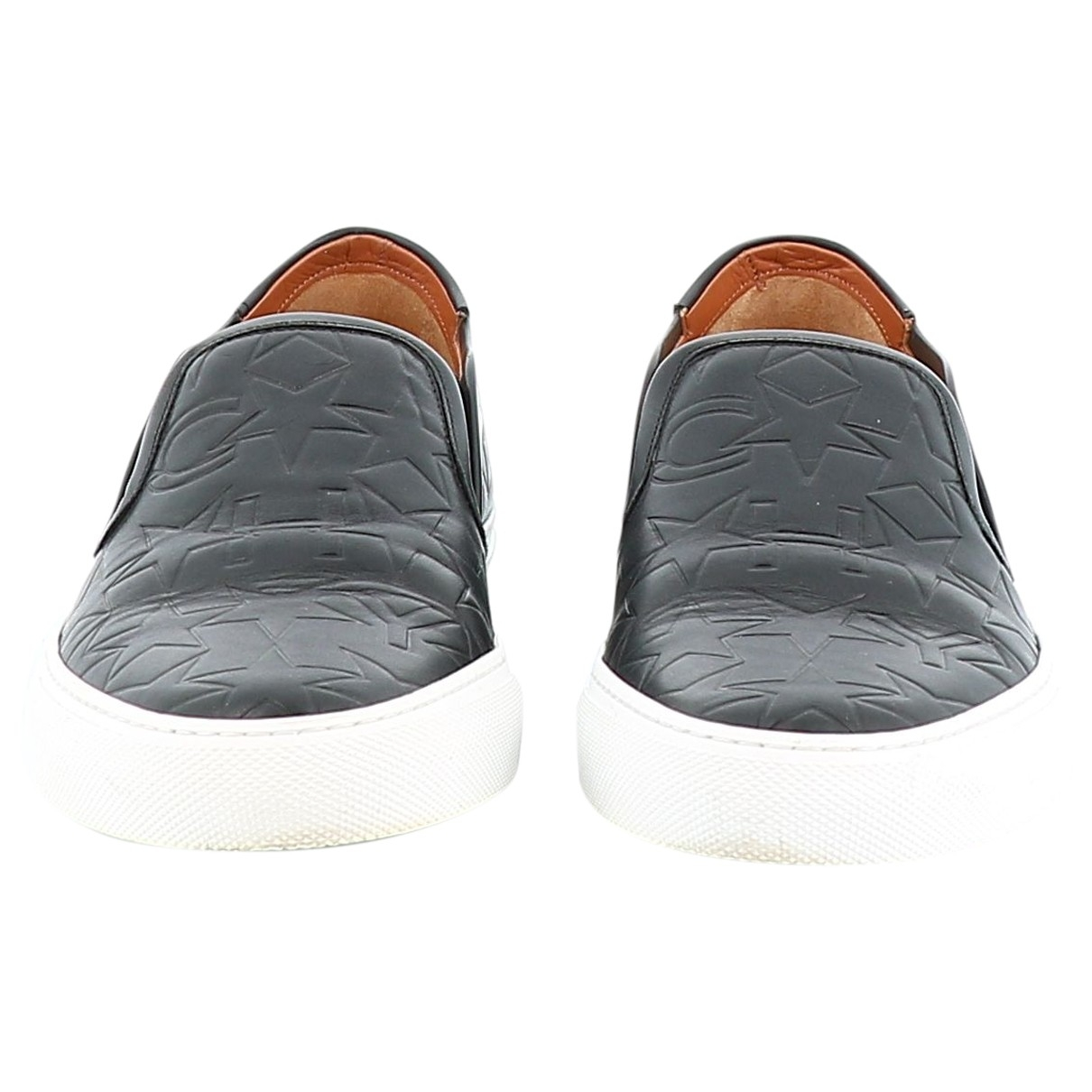 Givenchy \N Black Leather Trainers for Women 37 EU
