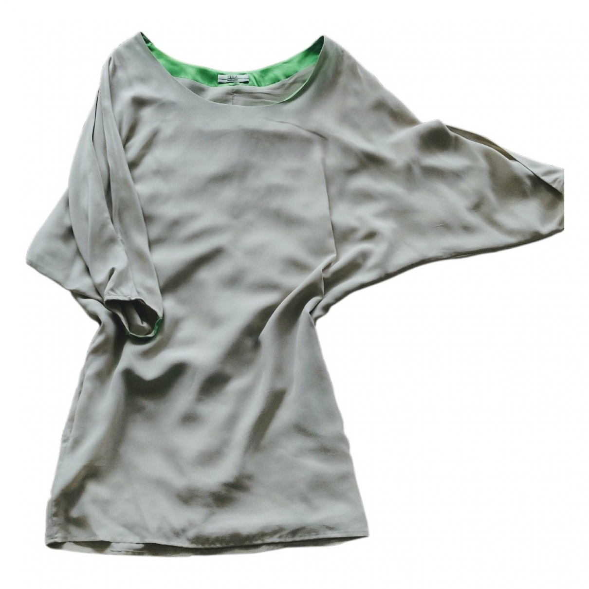 Ella Luna - Robe   pour femme en soie - ecru