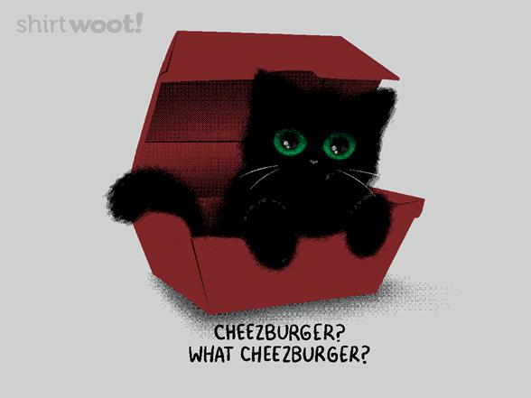 What Cheezburger? T Shirt