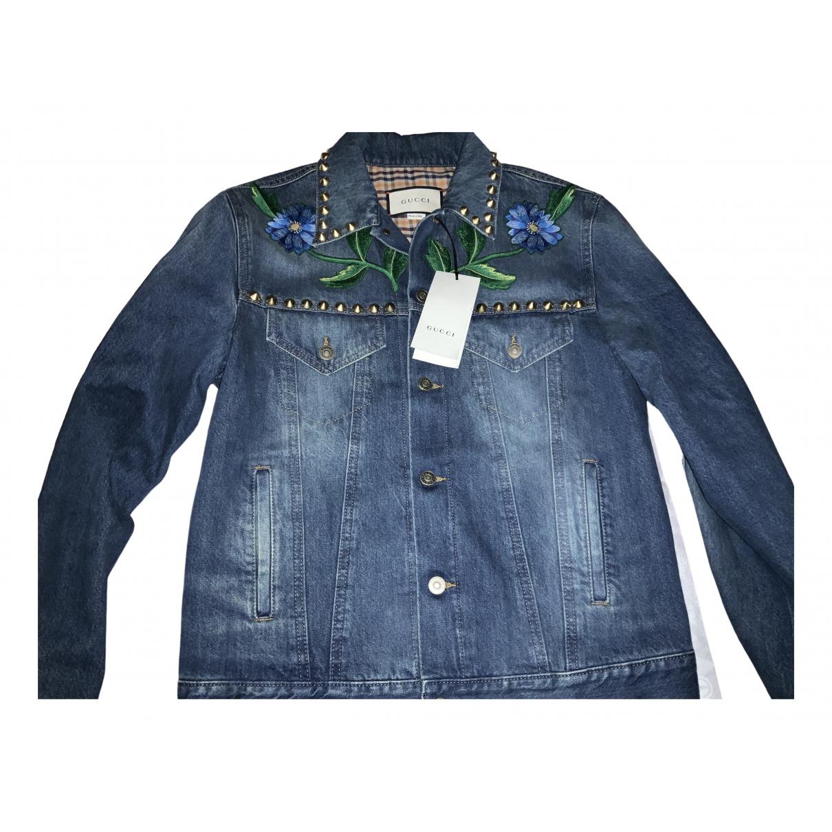 Gucci \N Black Denim - Jeans jacket  for Men 48 IT
