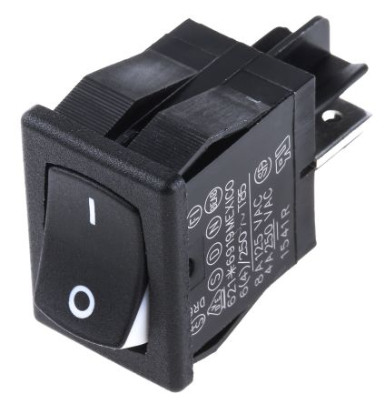 Carlingswitch Single Pole Single Throw (SPST), On-None-Off Rocker Switch Panel Mount