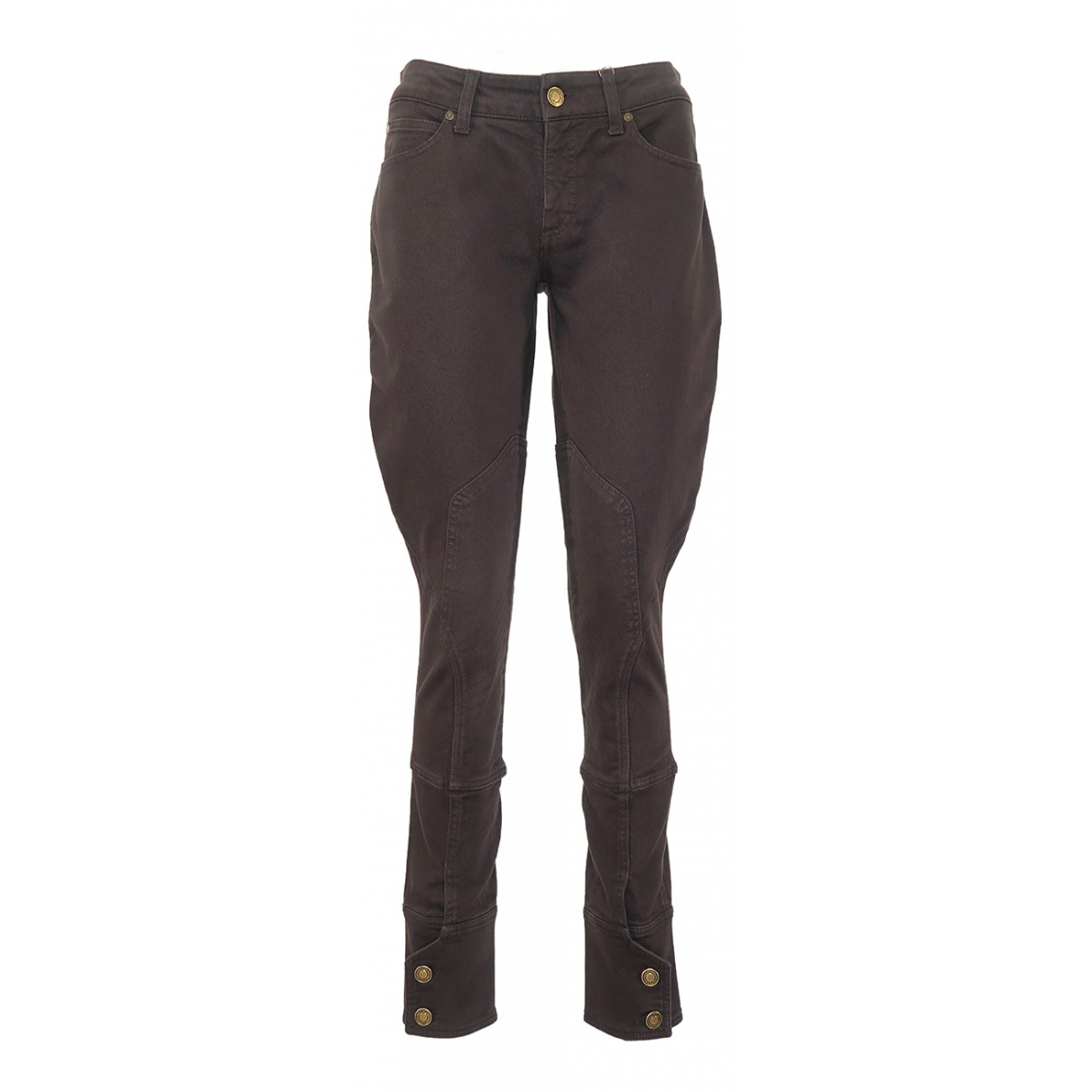 Gucci N Brown Cotton - elasthane Jeans for Women 38 FR