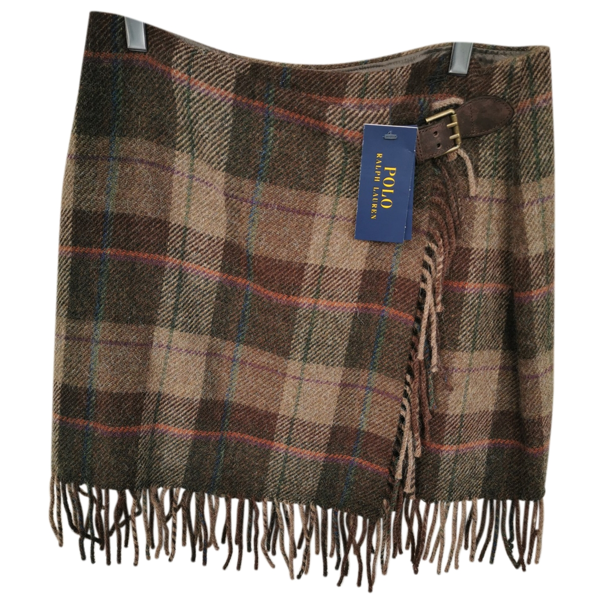 Polo Ralph Lauren \N Brown Wool skirt for Women 4 US