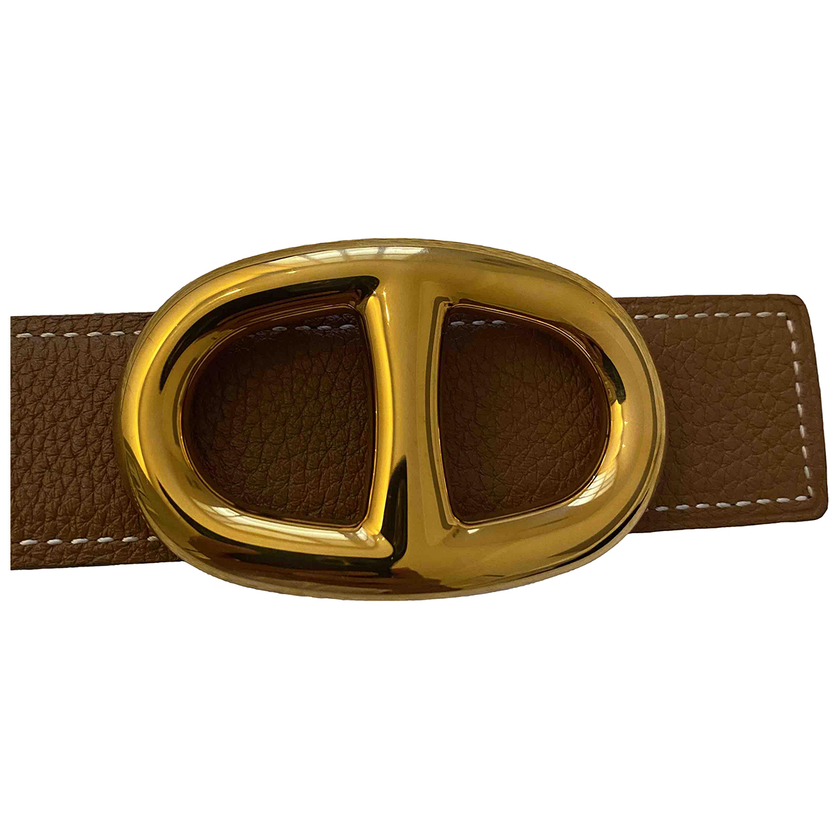 Hermes Chaine dAncre  Guertel in  Gold Metall