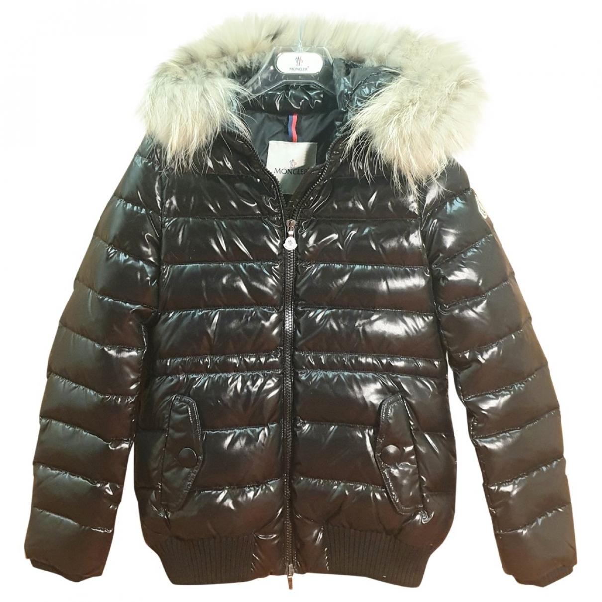 Moncler - Blousons.Manteaux Fur Hood pour enfant - noir