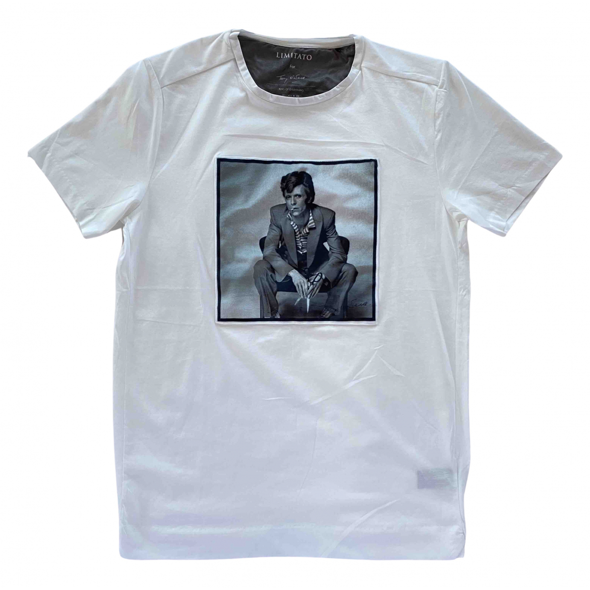 Non Signe / Unsigned \N T-Shirts in  Weiss Baumwolle