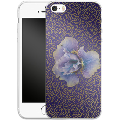 Apple iPhone 5s Silikon Handyhuelle - Iris Drawing Meditation von Kaitlyn Parker