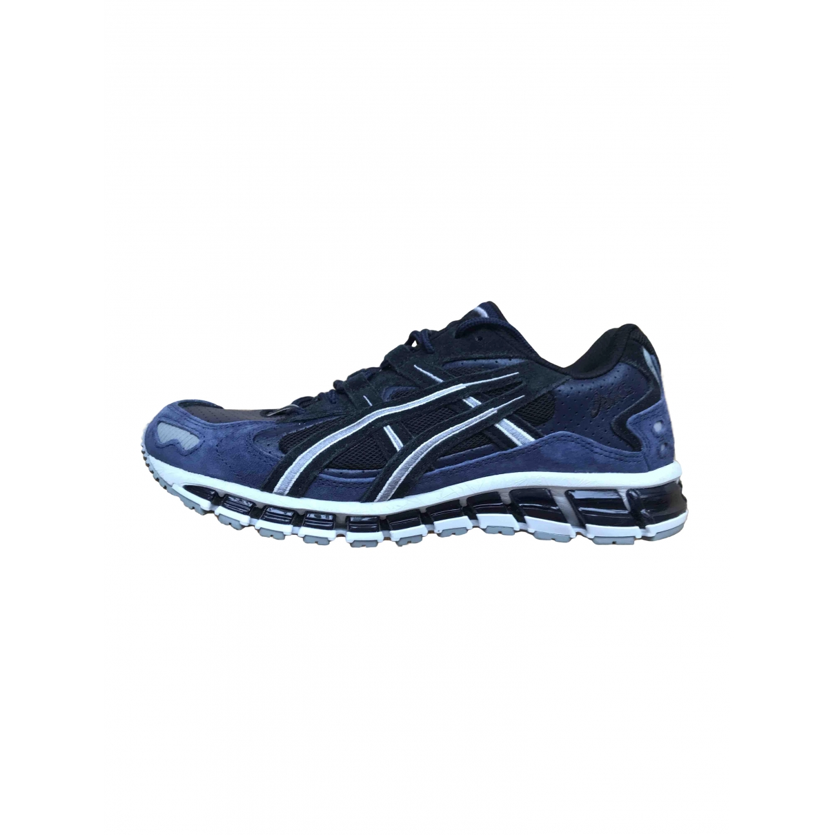 Asics \N Blue Suede Trainers for Men 40.5 EU