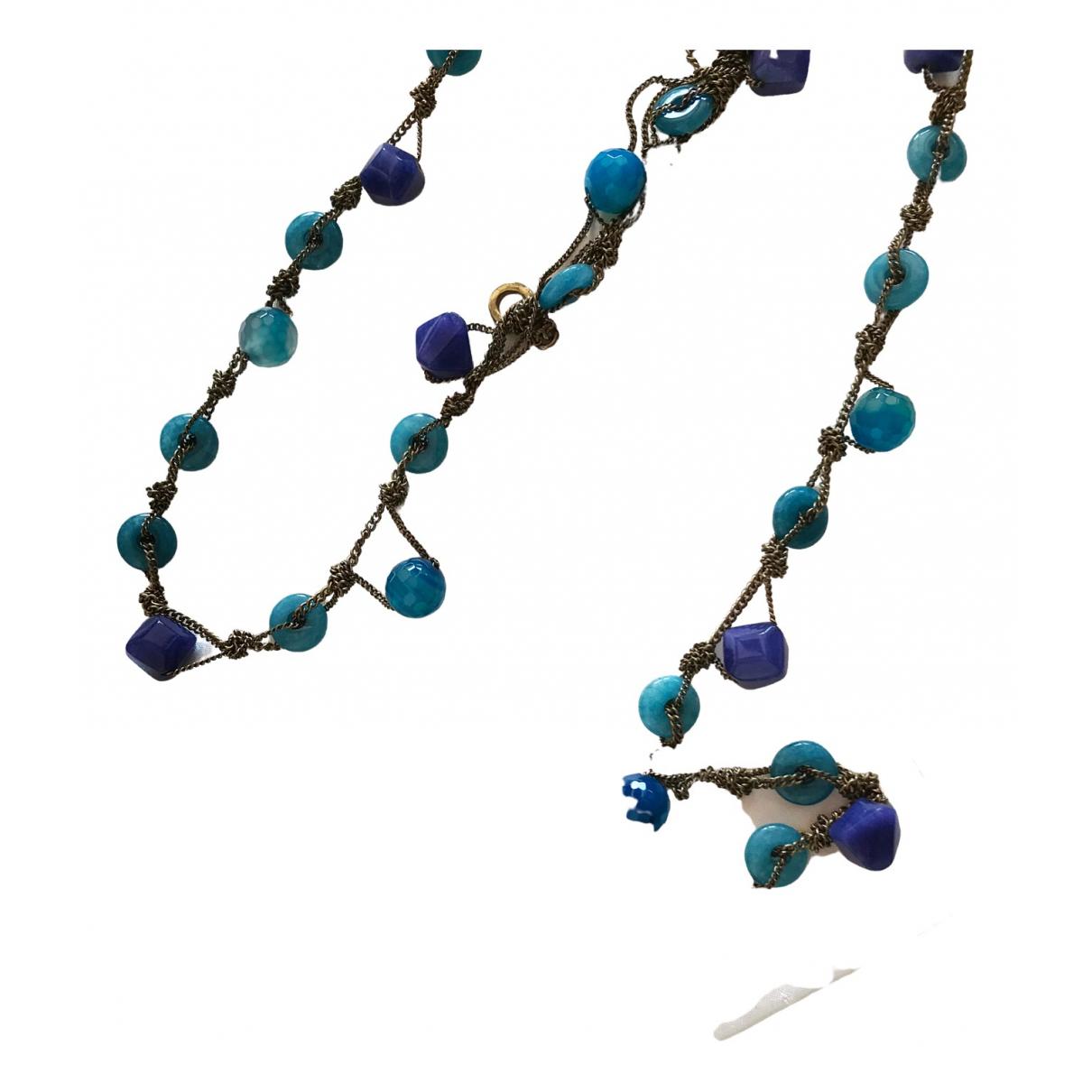 Furla \N Kette in  Blau Keramik