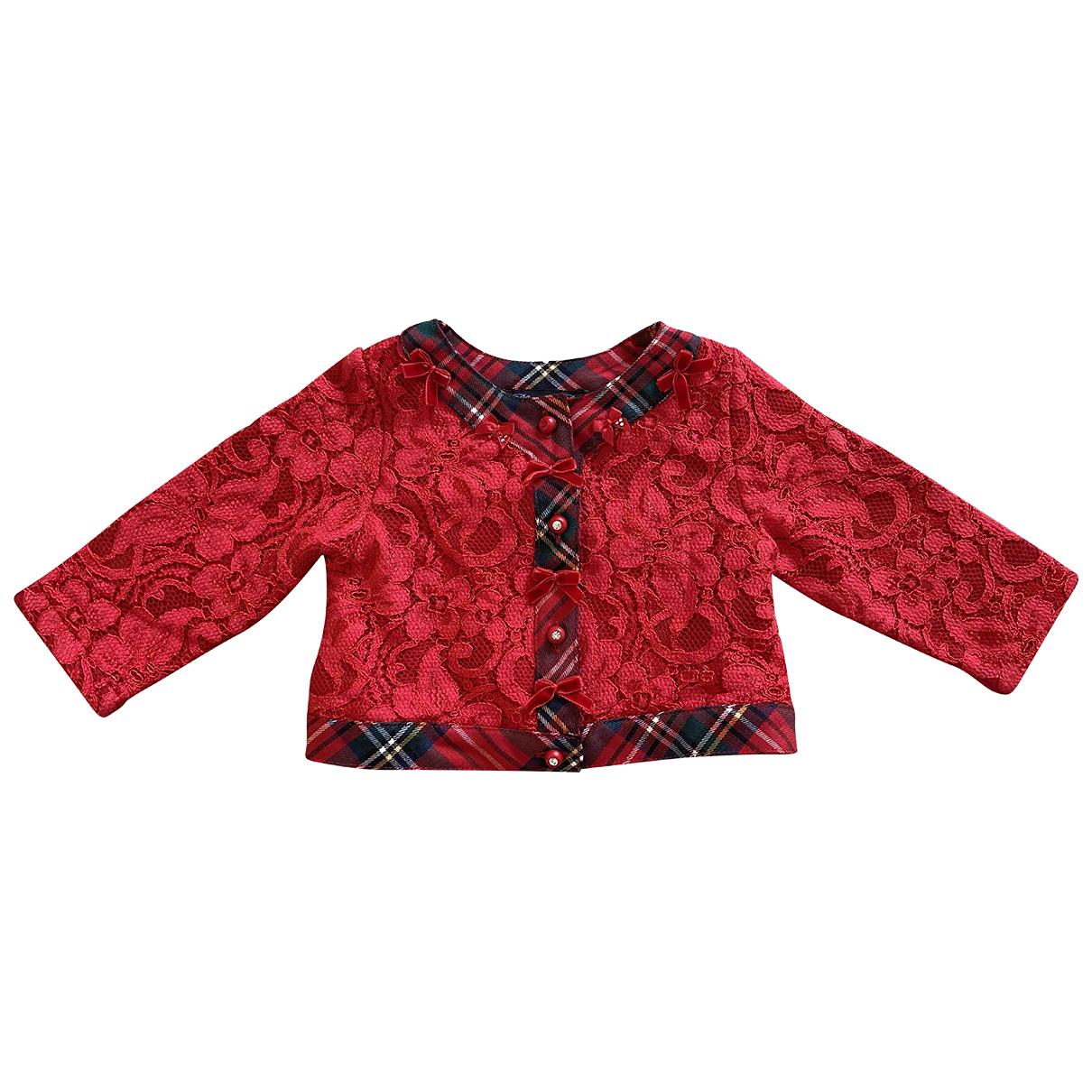 Blumarine - Blousons.Manteaux   pour enfant en coton - multicolore