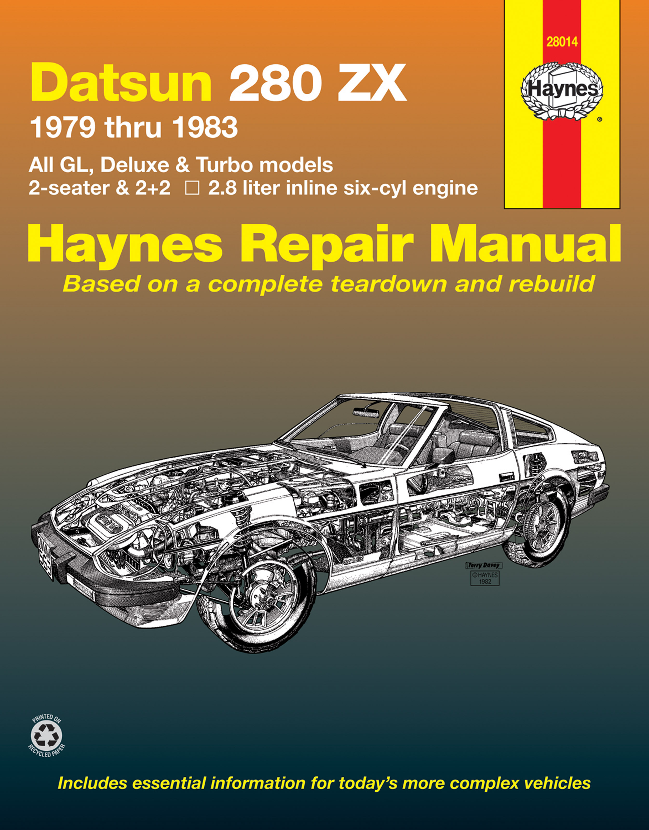 Datsun 280ZX (79-83) Haynes Repair Manual