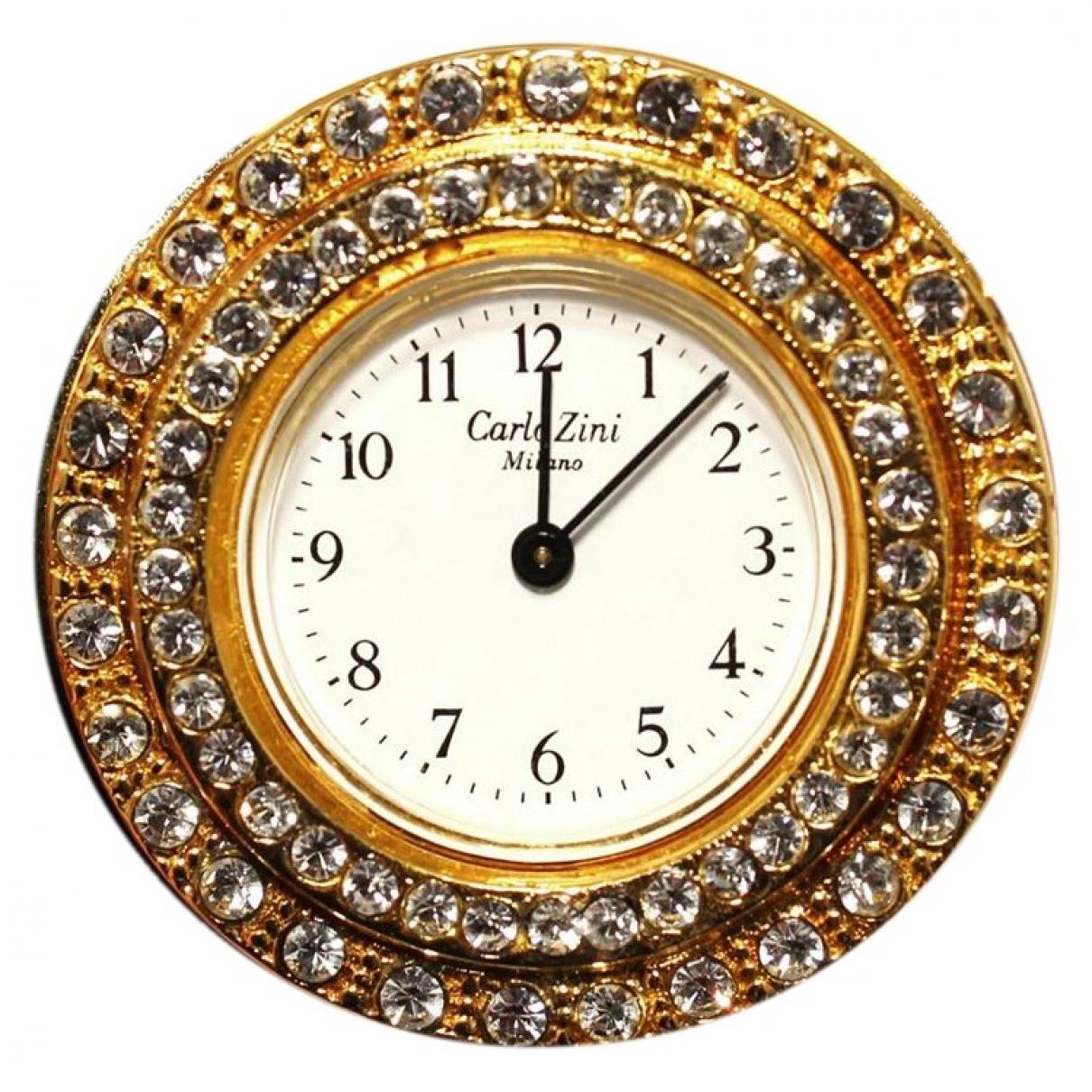 Carlo Zini \N Gold Yellow gold watch for Men \N
