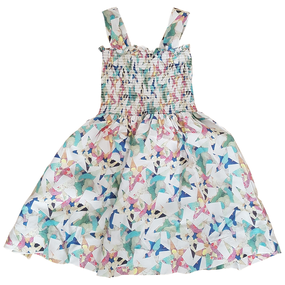 Stella Mccartney \N Multicolour Silk dress for Kids 4 years - until 40 inches UK