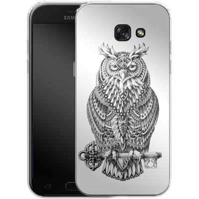 Samsung Galaxy A5 (2017) Silikon Handyhuelle - Great Horned Owl von BIOWORKZ