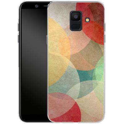 Samsung Galaxy A6 Silikon Handyhuelle - The Round Ones von Georgiana Teseleanu