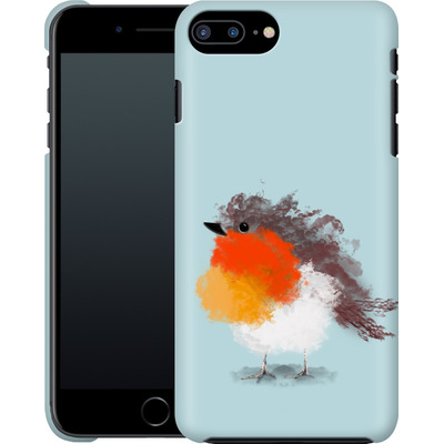 Apple iPhone 7 Plus Smartphone Huelle - Cloudy Robin von caseable Designs